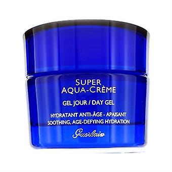 Guerlain Super Aqua crema día Gel 1.6oz / 50ml