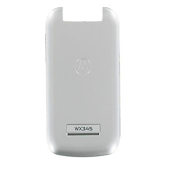 OEM Standard Battery Door Cover for Motorola WX345 (Silver)