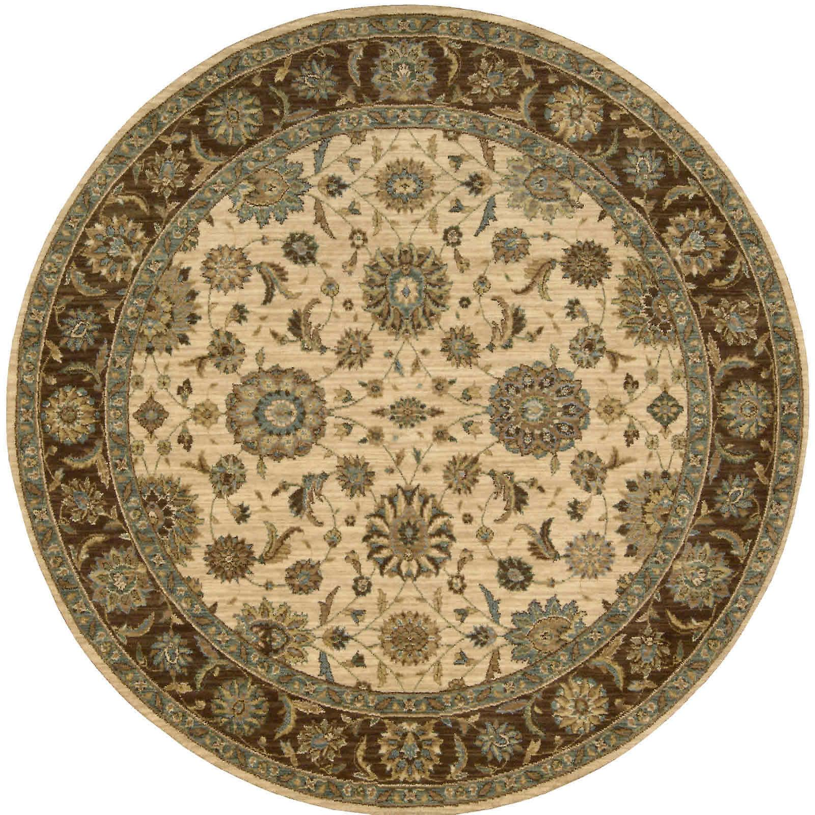 Trésor vivant circulaires Tapis par Nourison Li05 En Beige