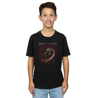 DC Comics pojkar Aquaman Black Manta cirkel T-Shirt
