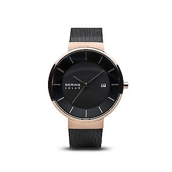 BERING unisex - solar - shiny Rosé gold - 14639-166 - wrist watch-