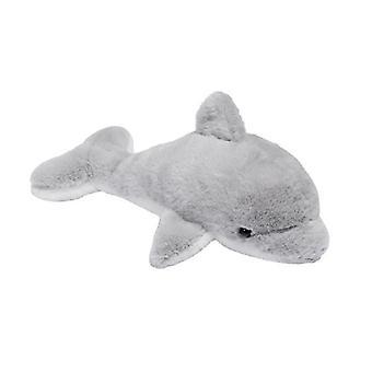 Pluche Dolfijn Knuffel Grijs 20cm