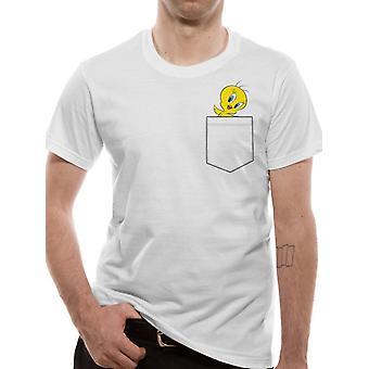 Looney Tunes-Tweety Pocket T-shirt
