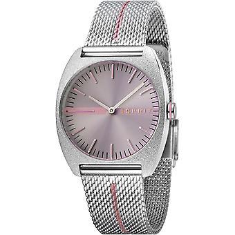 ESPRIT Ladies Watch Watches Quartz Analogue Spectrum Gray Mesh