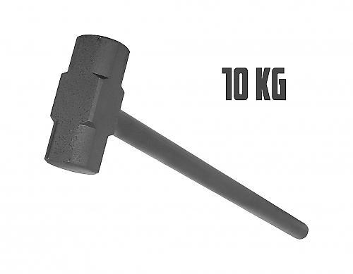 Marteau en acier de gymnastique 10kg