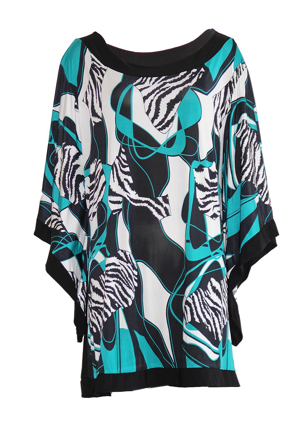 Waooh - Tunic Large Geometric Pattern Tadaoni