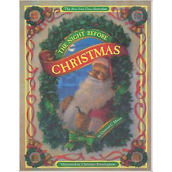 The Night Before Christmas (Board Book) by Clement C. Moore - Christi