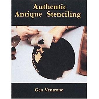 Authentic Antique Stencilling by G. Ventrone - 9780887401404 Book