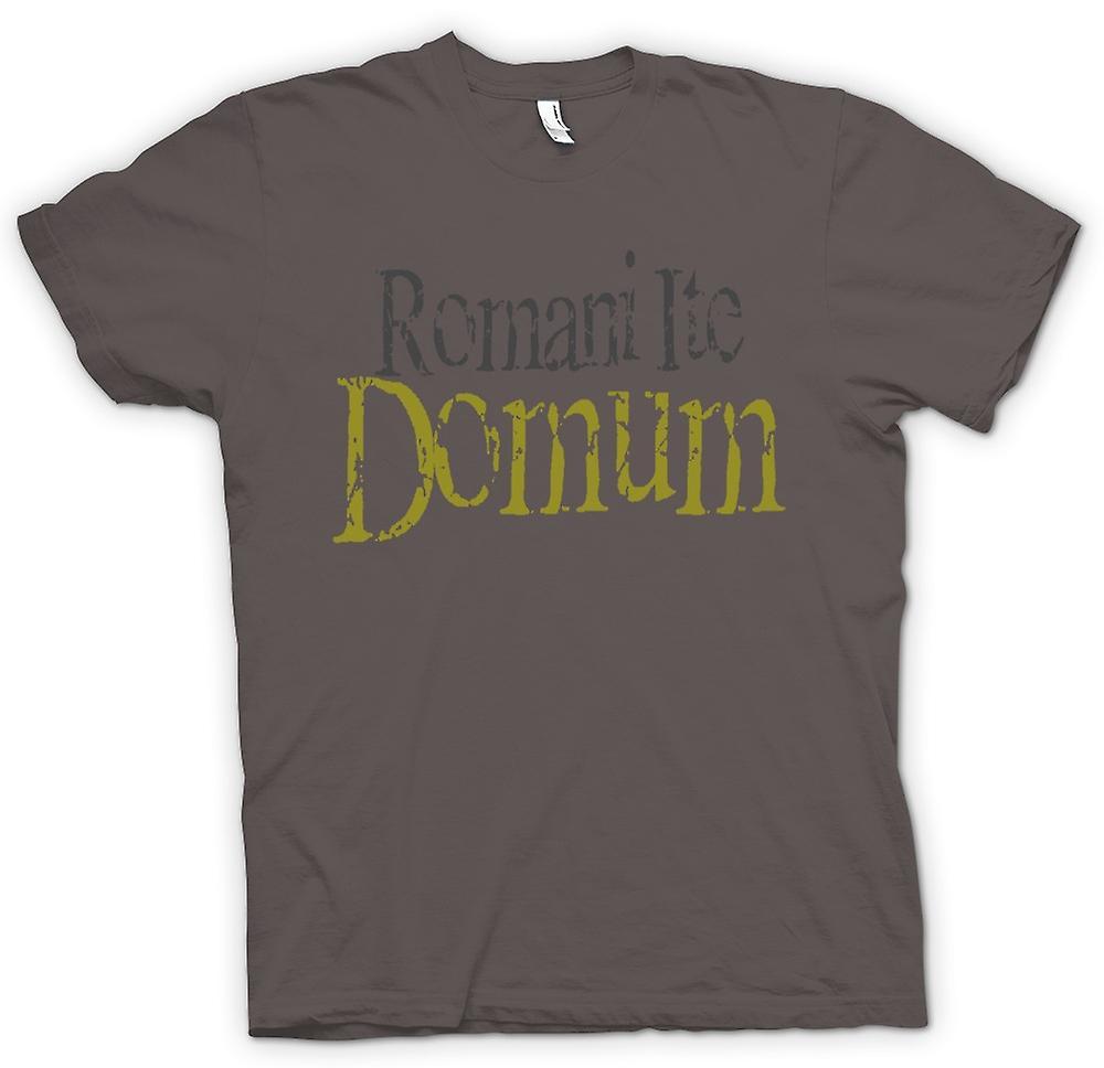 Camiseta mujer - Romani Ite Domum - gracioso