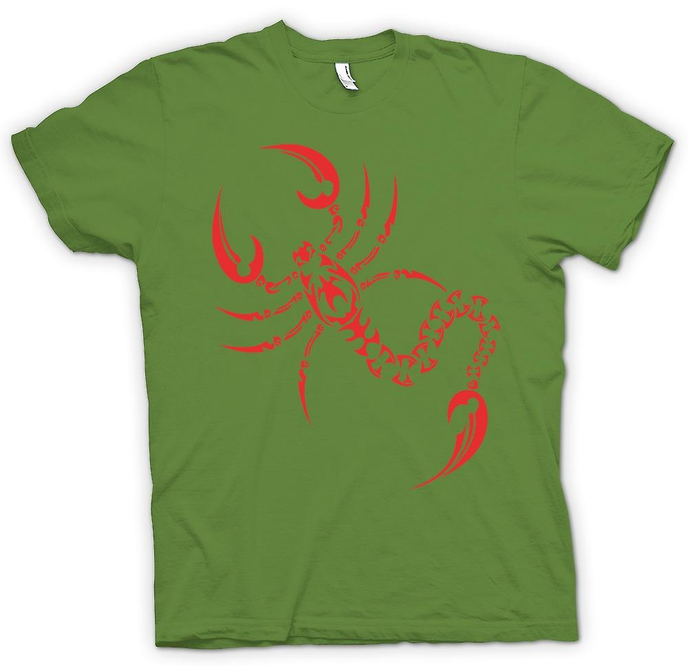 Mens T-shirt - Scorpion Tribal Design