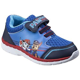 Leomil Childrens Boys Paw Patrol Case And Marshall Touch Fastening Trainers
