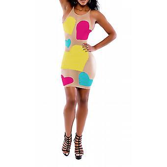 Waooh - Sexy jurk met kleurrijke hart Caspa