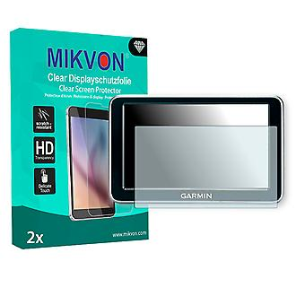 Garmin nüvi 140LMT Screen Protector - Mikvon Clear (Retail Package with accessories)