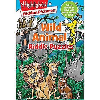 Wild Animal Riddle Puzzles (Hidden Pictures)