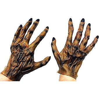 Hombre lobo de las manos