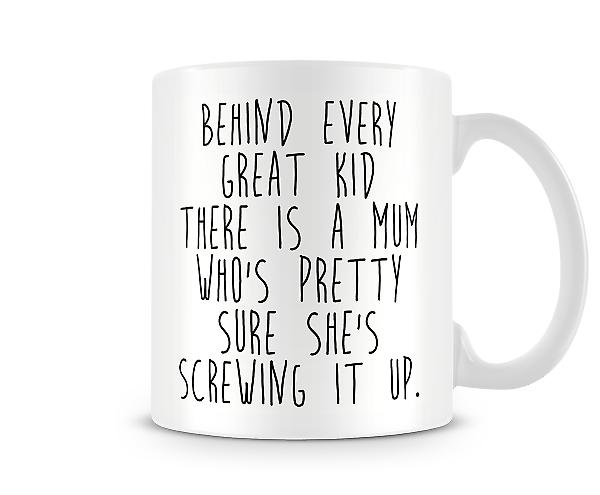 Behind Every Great Kid Mug