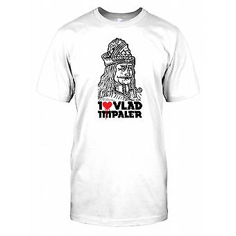 Je aime Vlad The Impaler - Dracula Themed T-shirt