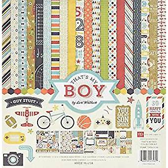 Echo Park Paper That's My Boy 12x12 Inch Collection Kit (TMB60016)