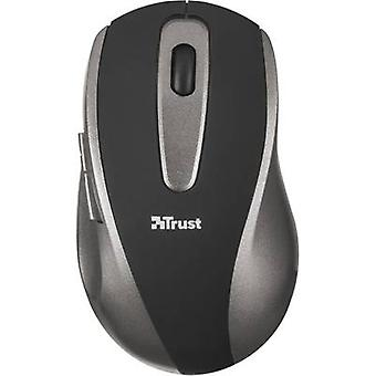 Trust Easyclick Wireless mouse Optical Black