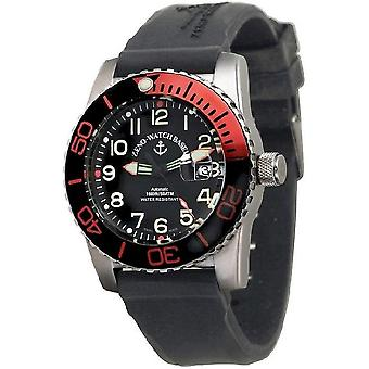 Zeno-watch mens watch airplane diver automatic, 6349-12-a1-5
