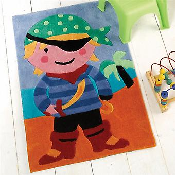 Flair Kiddy Play Pirate Multi Childrens Rug 70x100cm