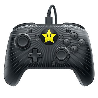 Faceoff Wired Pro Controller Super Mario Star Edition Nintendo Switch