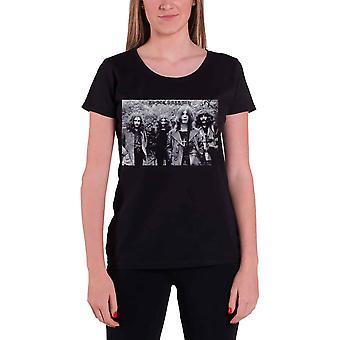 Black Sabbath T Shirt Group Shot vintage new Official Womens Skinny Fit Black