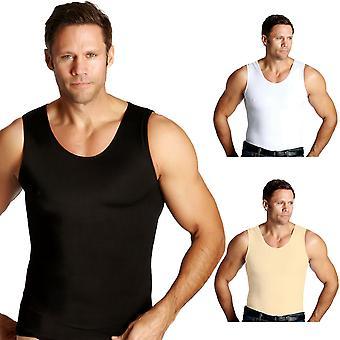 Insta schlanke Muskel Tank straffende Kompression unter Hemd abnehmen