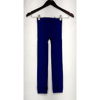 NINGYI strømpebukser trække på stretch åndbar Blå Dame