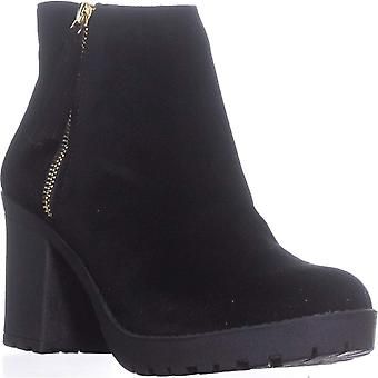 Material Girl Womens Mellice Suede Closed Toe Ankle Fashion Boots