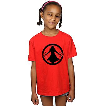 Marvel Girls Scarlet Witch Symbol T-Shirt