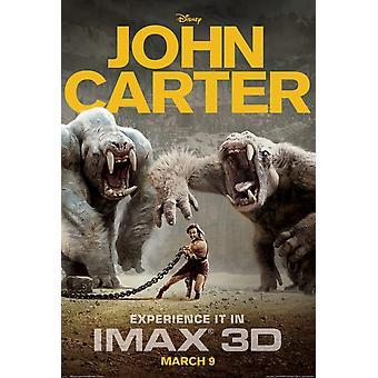 John Carter (Imax) Poster Double Sided Advance (2012) Original Cinema Poster