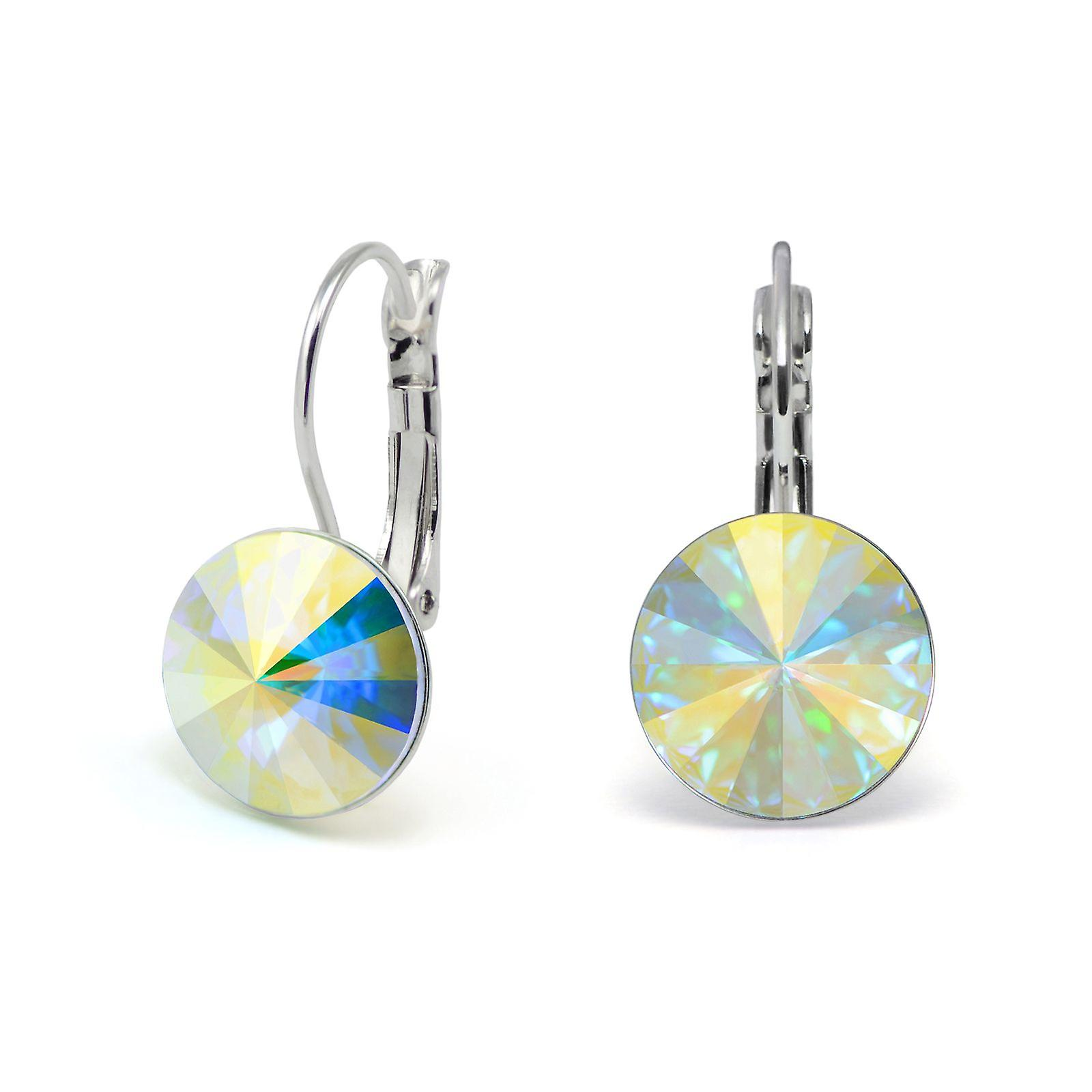 Crystal earrings Aurora Boreale EMB 1.6