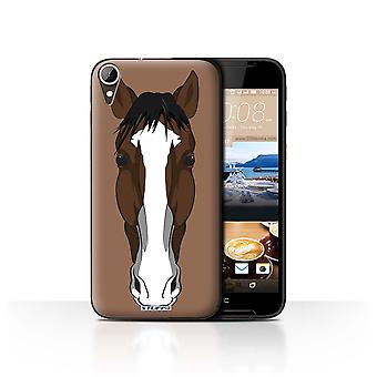 STUFF4 Case/Cover for HTC Desire 830/Horse/Animal Faces
