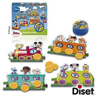 Diset Learn to count Disney Junior (Toys , Educative And Creative , Mathematics)