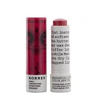 Korres Lip Stick Spf15 Rosa Salvaj (Woman , Cosmetics , Skin Care , Eyes and lips)
