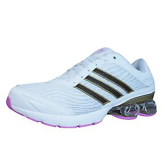 Adidas Neptune Bounce Womens Running Trainers / Shoes - White