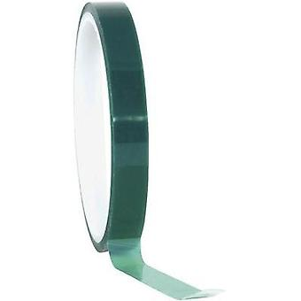 Tape TOOLCRAFT Green (L x W) 66 m x 9 mm Silicone Content: 1 Rolls