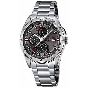 Festina Mens Stainless Steel Multifunction Dial F16876/3 Watch