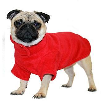 Cosi Fleece Coat Red 30cm (12