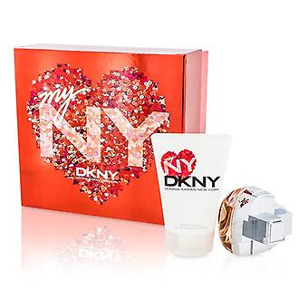 DKNY My NY The Heart Of The City Coffret: Eau De Parfum Spray 50ml/1.7oz + Body Lotion 100ml/3.4oz 2pcs
