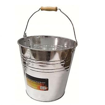 15ltr Galvanised Steel Bucket