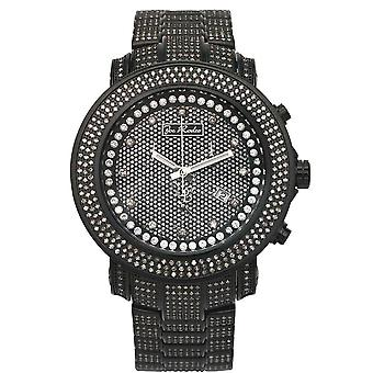 Joe Rodeo diamant mænds watch - JUNIOR sort 11,5 ctw