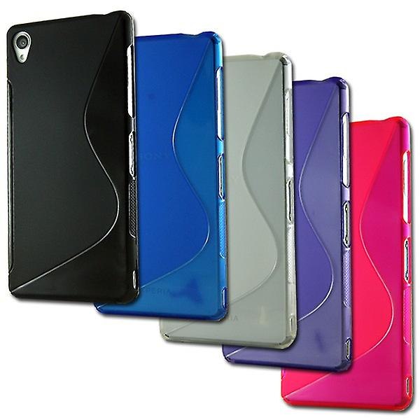 Silikoncase S-line for many Sony Xperia models