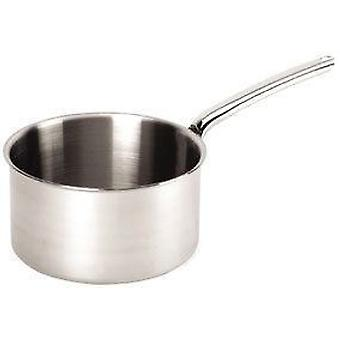 De Buyer PRIORITY saucepan with riveted handle All stainless steel