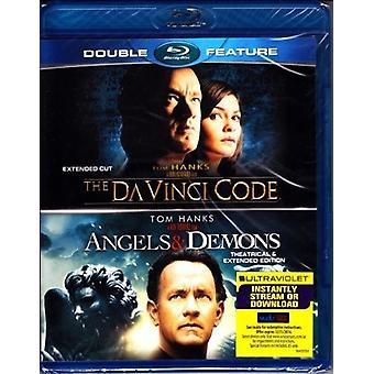 Angels & Demons / Da Vinci [Blu-ray] USA import