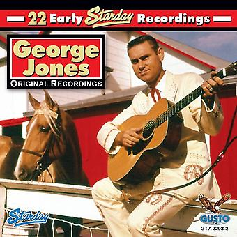 George Jones - 22 Early Starday Recordings [CD] USA import