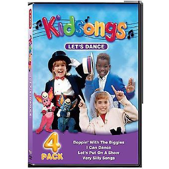 Kidsongs - Lad os dans [DVD] USA import