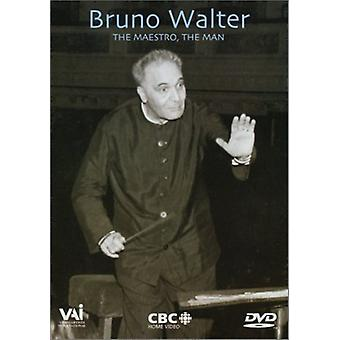 Bruno Walter - Maestron the Man [DVD] USA import