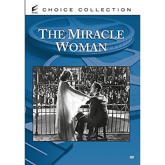 Miracle Woman [DVD] USA import